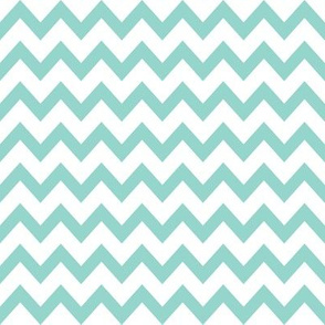 chevrons, chevron, mint chevron baby nursery fabric, chevrons