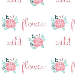 wild flower fabric, girls florals, girls flower, florals, flowers, wildflower