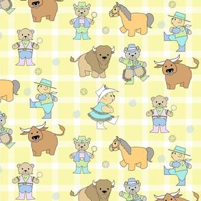Baby Bears Go West