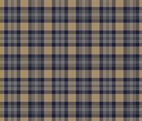 "Gordon Highlanders tartan, 7"" weathered fabric by weavingmajor on Spoonflower - custom fabric"