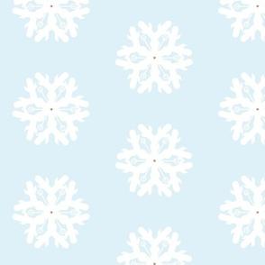 Snowflake w/ gold