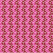 Tracks - Crimson & Hot Pink