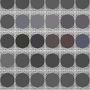 Grey Palette ~ Peacoquette Designs