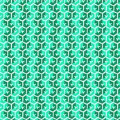 Tracks - Emerald &  Icy Aqua