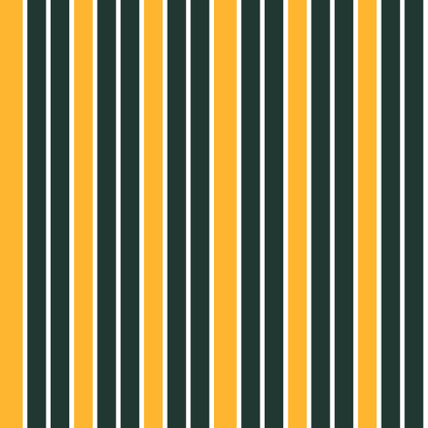Greenish Black and Orange Vertical Stripe fabric by eclectic_house on Spoonflower - custom fabric