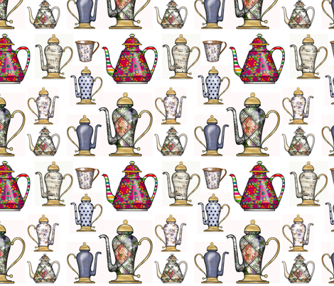Collector fabric by floramoon on Spoonflower - custom fabric