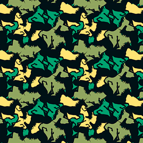 unicorns_in_camo fabric by fabiennegood on Spoonflower - custom fabric