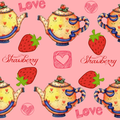 Love Strawberry Tea