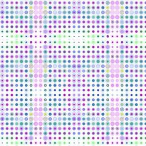 Dizzy Dots on White