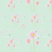 Dandelion Fairies -Blue