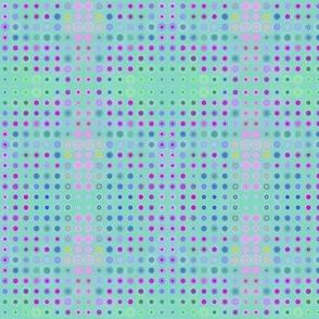 Dizzy Dots on Sea Foam