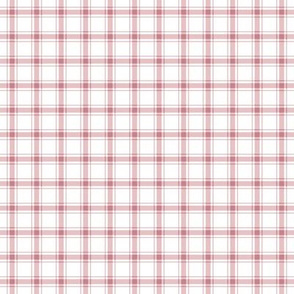 Dusty Rose Plaid