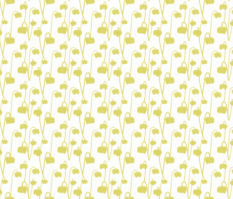 pitcherplantyellow fabric by krista_power on Spoonflower - custom fabric