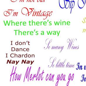Coloured wine quotes