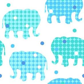 Elephants Dots