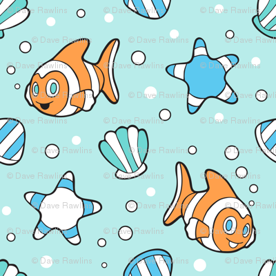 Clown Fish in the ocean