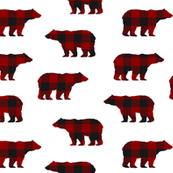 Buffalo Plaid Bears // Sylvan Shoppe Collection