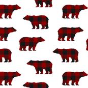 Buffalo Plaid Bears // Sylvan Shoppe Collection