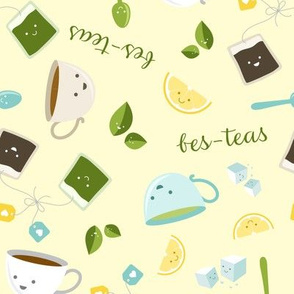 Best Tea Friends - Bes-teas - Yellow