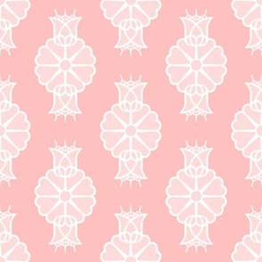 Lacy Floral Pink