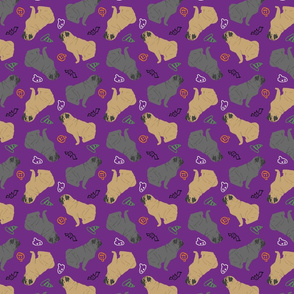 Tiny Pugs - Halloween