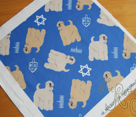 Tiny Wheaten Terrier - Hanukkah