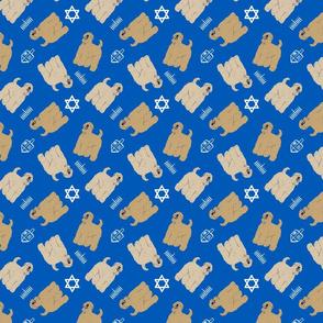 Tiny Wheaten Terrier - Hanukkah