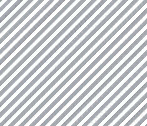 Grey Stripes Diagonal Stripes Fabric Diagonal Stripe For