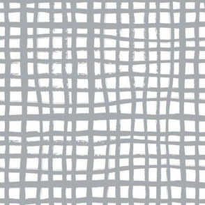 grey grid fabric hand painted grid stripes fabric grey fabric