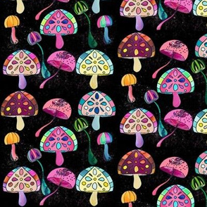Mushrooms In Space