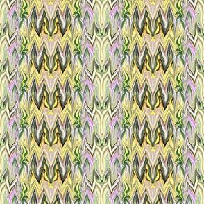 Tearful Ogre Bargello, Yellow, Green, Almond, Lavender, small
