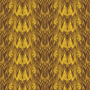 Tearful Ogre Bargello, Gold, small