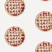 Pie photo placement print (s)