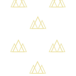 reservedonly modern origami gold crowns