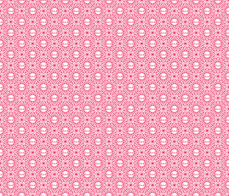 Delicately Speaking- B*tch Med fabric by shala on Spoonflower - custom fabric