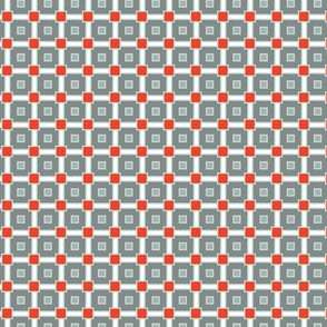 Gray Red Geometric Squares_Miss Chiff Designs