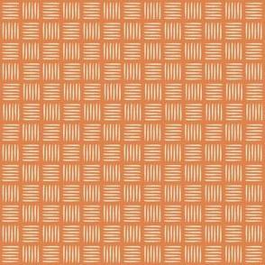 BASKETWEAVE - terracotta