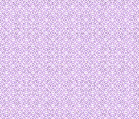 Delicately Speaking Purple -Med fabric by shala on Spoonflower - custom fabric