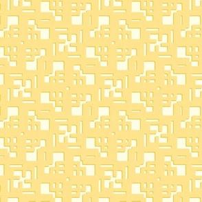 Yellow Spiral Lattice