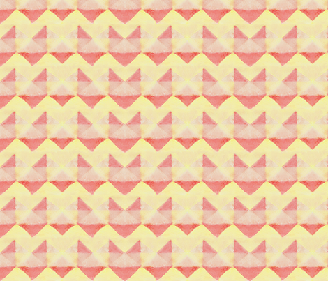 Abstract Watercolor Chevron Triangles fabric by nicoledobbins on Spoonflower - custom fabric