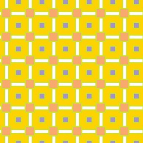 Peach Lime and Periwinkle Squares_Miss Chiff Designs