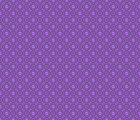 Delicately Speaking Purple -Med fabric by shala on Spoonflower - custom fabric