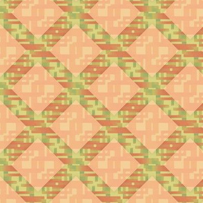 Autumn Diamond Lattice