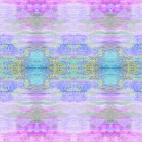 COAT OF COLORS Lavender, Aqua & Green Gold