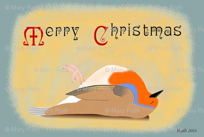 Victorian Christmas Robin
