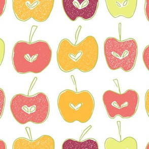 Apple Stamps and Love