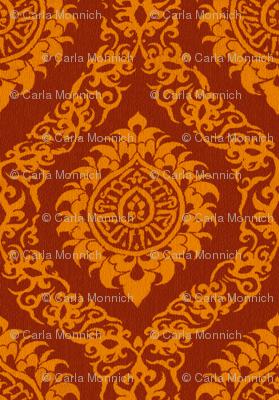 Red Orange Ogee