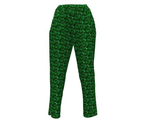 fractal flora in green