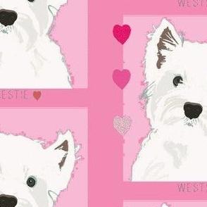 Westie Love-Pink