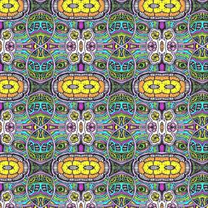 Coloured Doodle Kaleidoscope